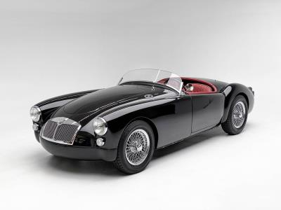 Petersen Automotive Museum To Auction Restored 1961 MGA Outlaw And More At Virtual Gala