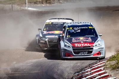 The Updated Peugeot 208 WRX Shows Its Potential In Sweden But Team Peugeot Total Finishes Just Off The Podium