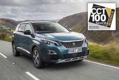 All-New Peugeot 5008 Takes SUV Award In New CCT100 Awards