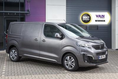 peugeot expert awarded best medium van in the 2017 van. Black Bedroom Furniture Sets. Home Design Ideas