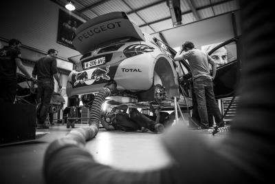 Team Peugeot Total Begins New Adventure In FIA World Rallycross Championship