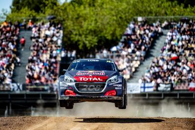 A Podium For Team Peugeot Total On An Action-Packed Rallycross Debut!