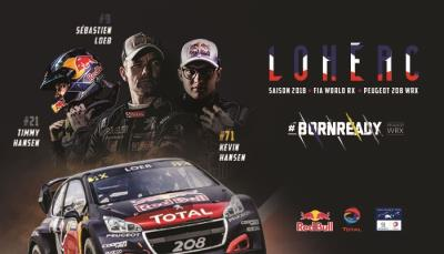 Team Peugeot Total Returns To Action In France The 208 WRX 'Lion' Is Ready To Roar On Home Soil!
