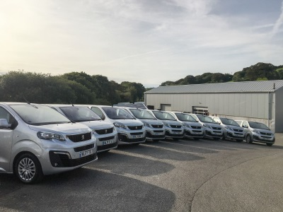 25 New Peugeot Travellers Replace Mixed Fleet For Spectrum