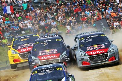 Highway To Hell For Team Peugeot Total On Round 5 Of The FIA World RX!