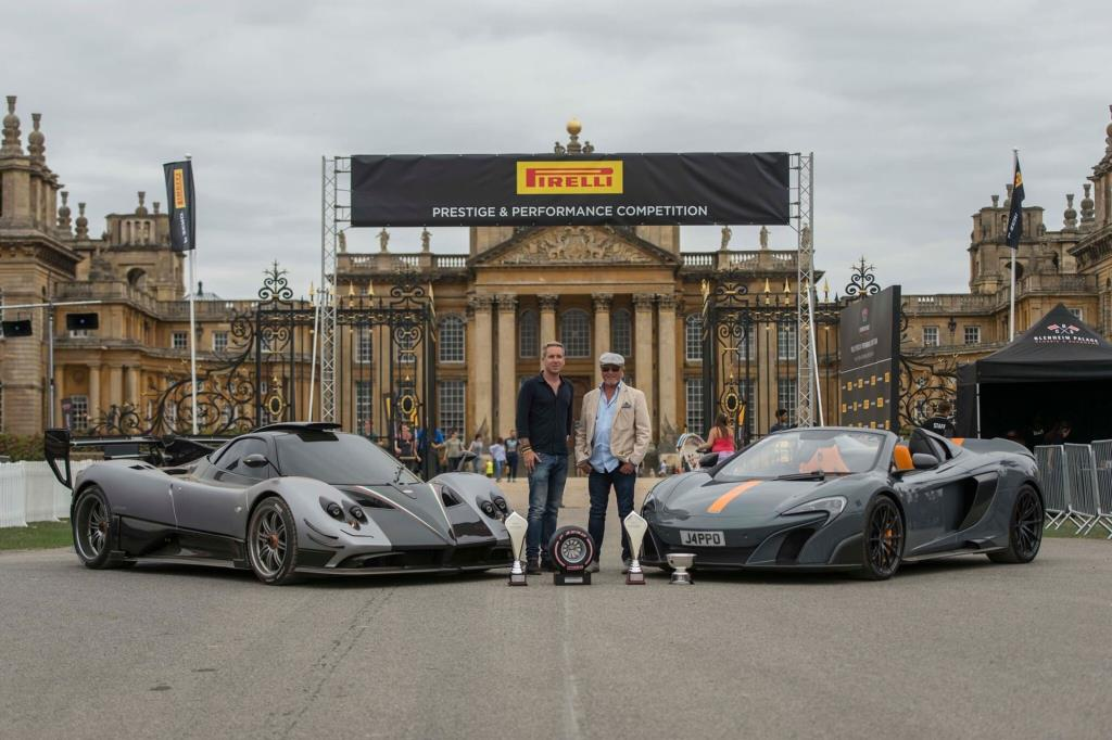 pirelli prestige & performance competition crowns one-of-one pagani