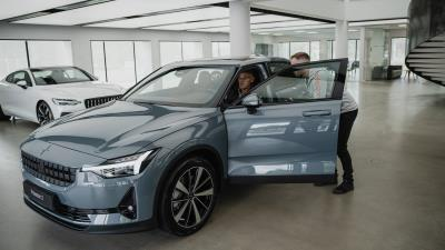 First European Polestar 2 Customer Car Delivered