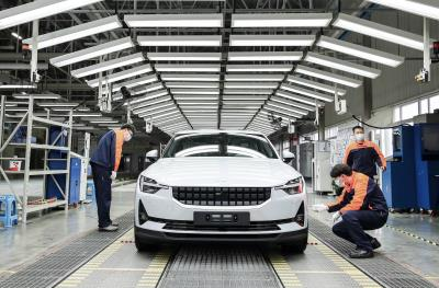 Polestar 2 Production Begins In Luqiao, China