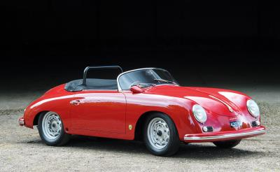 Only UK Porsche 356A RHD Carrera Speedster Makes Debut At Salon Privé In 70 Years Of Porsche Concours