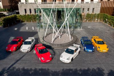 Porsche Celebrates 20 Years Of The 911 GT3