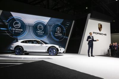 Porsche Mission E Cross Turismo Debuts