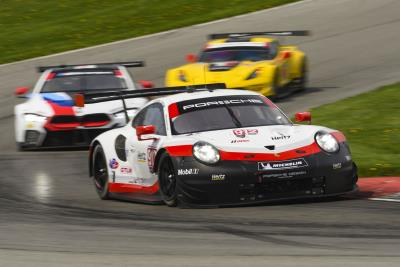 Porsche heads into second half of the season as points leader