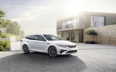 New Powertrains And Fresh Design For New Kia Optima At Geneva Motor Show