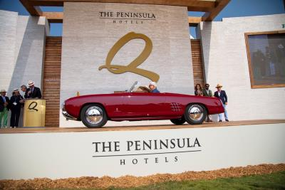 1953 Lancia Aurelia PF200C Named 'Best of Show' at 2018 The Quail, A Motorsports Gathering