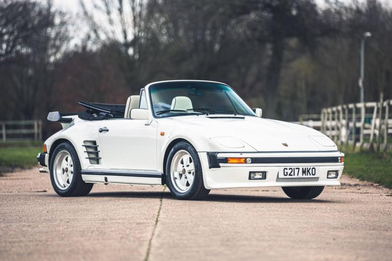 Low mileage and low production Porsches form part of the Race Retro Live Online Auction