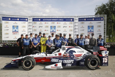 Rahal, Honda Dominate In Detroit   Conceptcarz.com