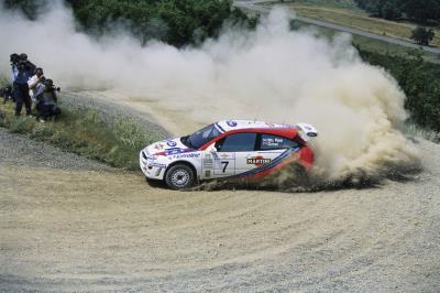 Rally Car Driven By The Legendary Colin Mcrae Goes Under Hammer