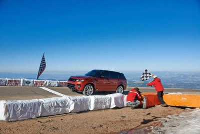 RANGE ROVER SPORT WILL BE THE OFFICIAL PACE CAR FOR THE 91ST PIKES PEAK INTERNATIONAL HILL CLIMB