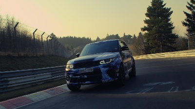 2015 RANGE ROVER SPORT SVR COMPLETES 8:14 LAP TIME AROUND THE NURBURGRING