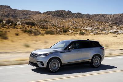Range Rover Velar Honored With 2018 Motorweek Drivers' Choice Award For Best Luxury Utility Vehicle