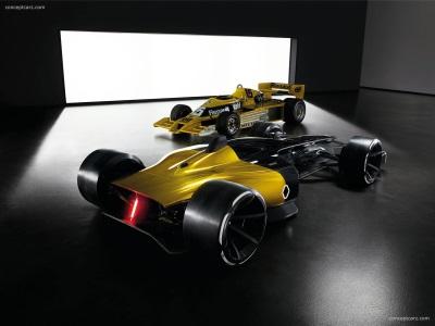 Renault Celebrates 40 Year Formula 1 Anniversary