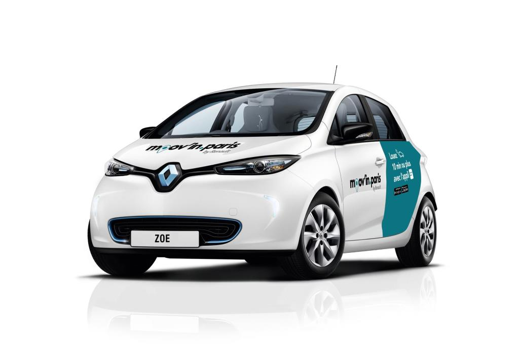 Renault And ADA Launch New Mobility Service In Paris
