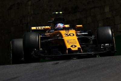 Renault Sport Racing Formula One Team – Formula 1 Azerbaijan Grand Prix 2017