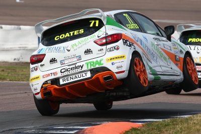 COATES RE-SIGNS WITH CICELEY MOTORSPORT TEAM FOR RENAULT UK CLIO CUP TITLE ATTACK IN 2017