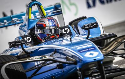 Renault E.Dams Sixth In The Streets Of Rome
