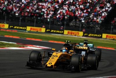Renault Sport Formula One Team: Formula 1 Mexican Grand Prix, Sunday