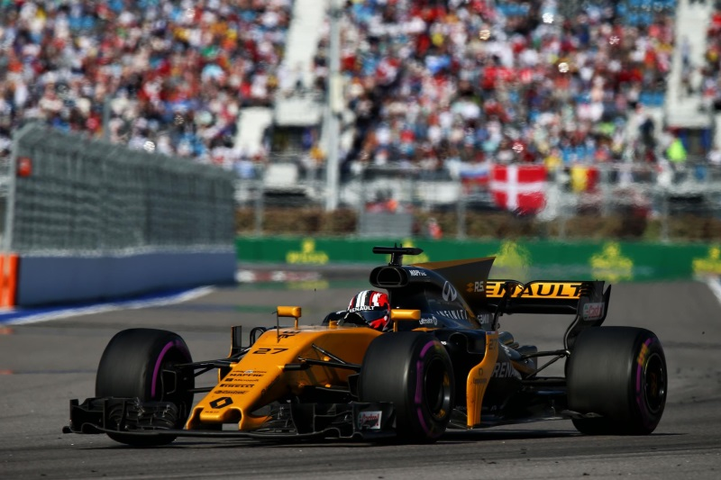 Renault Sport Racing – 2017 Formula 1 VTB Russian Grand Prix, Sunday
