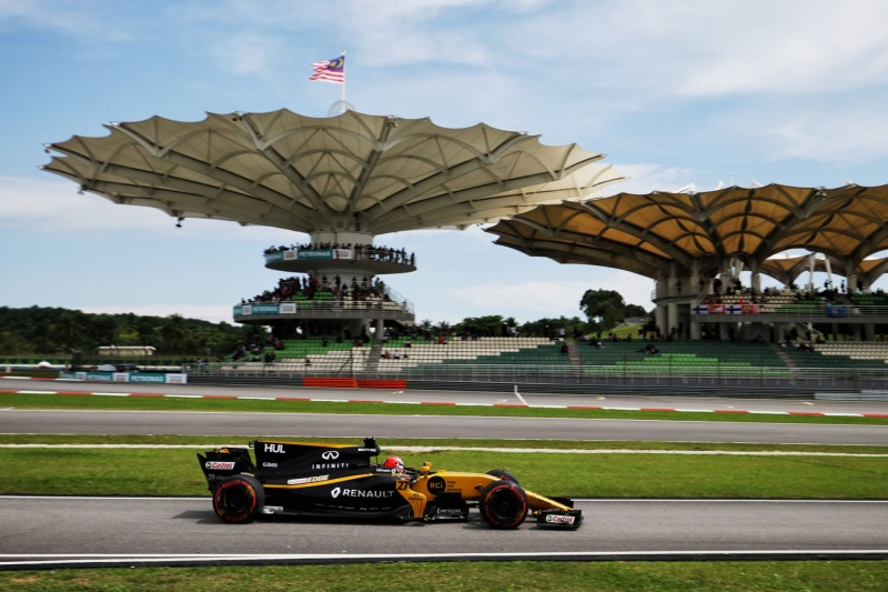 Renault Sport Racing Formula One Team – 2017 Formula 1 Malaysia Grand Prix