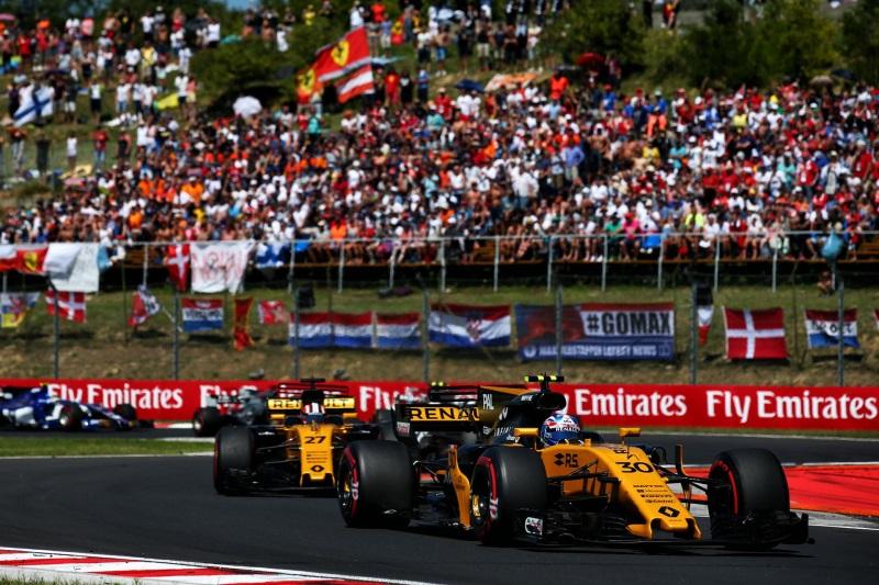 Renault Sport Racing: Formula 1 Hungarian Grand Prix 2017, Sunday