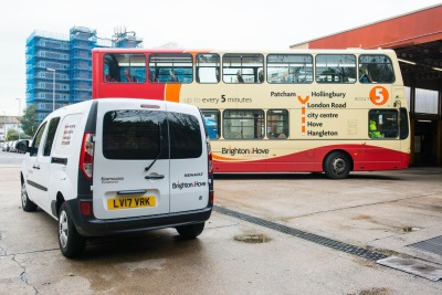 Renault Kangoo Van Z.E. The Best Route For Brighton & Hove Buses