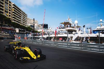 Renault Sport Formula 1 Team: Formula 1 Monaco Grand Prix, Sunday