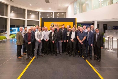 RENAULT RETAIL GROUP'S LONGEST-SERVING DEALER STAFF REWARDED FOR OVER 1,000 YEARS OF COMBINED SERVICE