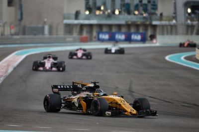 Renault Sport Racing Formula One Team – Formula 1 Etihad Airways Abu Dhabi Grand Prix, Sunday