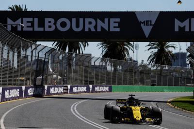 Renault Sport Formula 1 Team: Formula 1 2018 Rolex Australian Grand Prix Preview