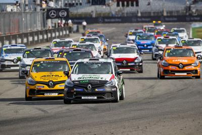 Young Wins Again In German GP's Clio Cup Open, Colburn Also On Podium