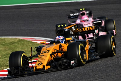 Renault Sport Formula One Team - Japanese Grand Prix 2017, Sunday