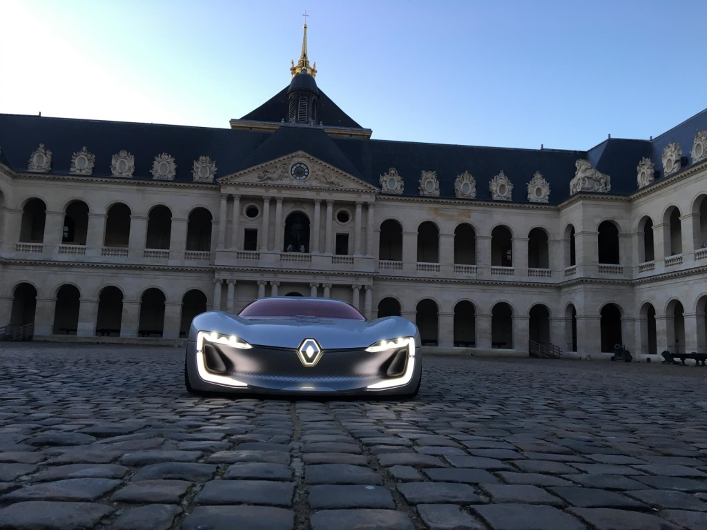 The Renault Trezor Voted Most Beautiful Concept Car Of 2016