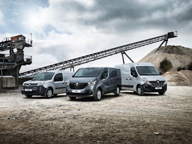 RENAULT VANS BUILD ON RECORD UK SALES WITH 20 PER CENT GROWTH IN FIRST HALF OF 2016