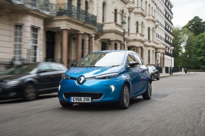Renault Zoe Declared Green Apple Pure Electric And Hybrid Vehicle Champion 2017
