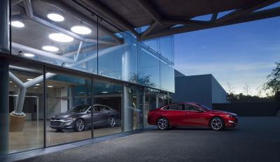 The Restyled Face Of Chevrolet Cars