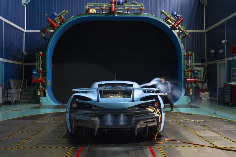 Rimac C_Two Final Aerodynamic Testing