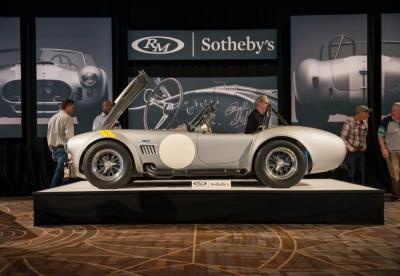 RM Sotheby's Achieves $36.5M with 88 Percent of All Lots Sold in Arizona