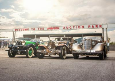 RM Auctions Presents Auburn Cord Duesenberg Trio Offered From Richard L. Burdick Collection