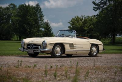 RM Auctions Adds 1957 Mercedes-Benz 300 SL Roadster to Auburn Fall Weekend