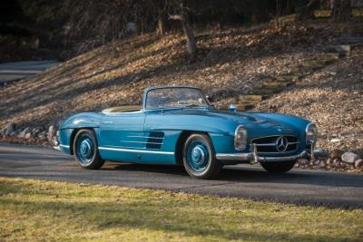 RM Auctions Presents Mercedes-Benz 300 SL Roadster Offered from 40 Years in Single Ownership at Fort Lauderdale