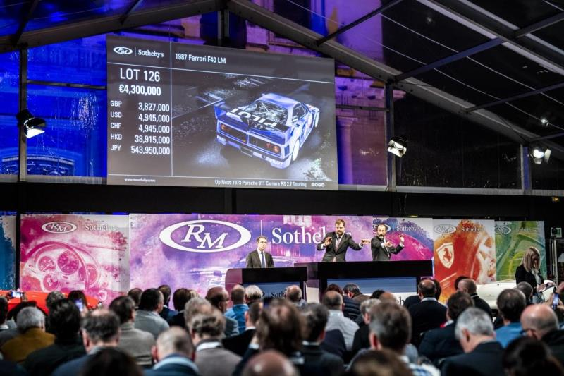 RM Sotheby's Achieves Best Ever Result In Paris At €32.4M